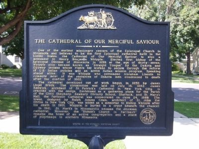 The Cathedral of Our Merciful Saviour Marker image. Click for full size.