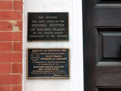 Dr. A.S.W. Rosenbach-National Register of HIstoric Places-2010 Delancey Place image. Click for full size.