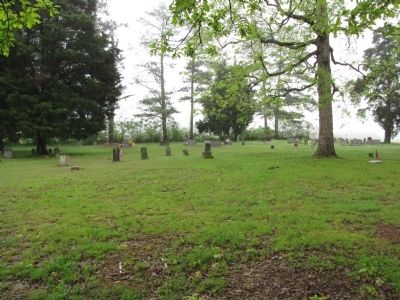 Round Island Baptist Church cemetery image. Click for full size.