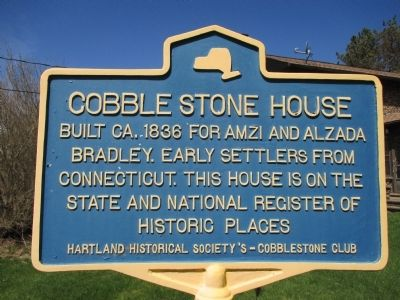 Cobblestone House Marker image. Click for full size.