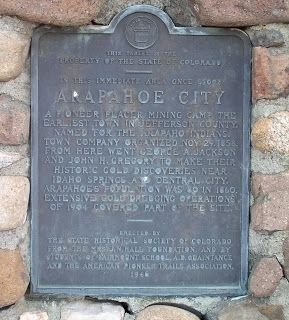 Arapahoe City Marker image. Click for full size.