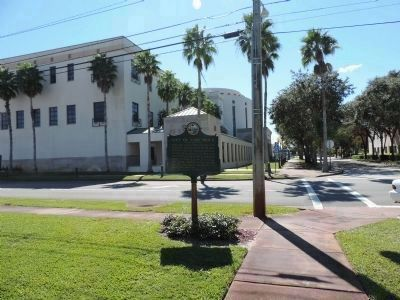 """City of Vero Beach Marker"" at the intersection of 21st Street & 16th Avenue image. Click for full size."