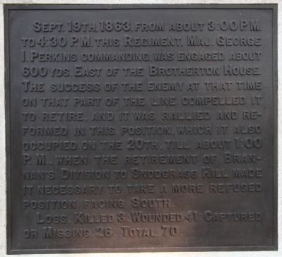 105th Ohio Infantry Monument image. Click for full size.