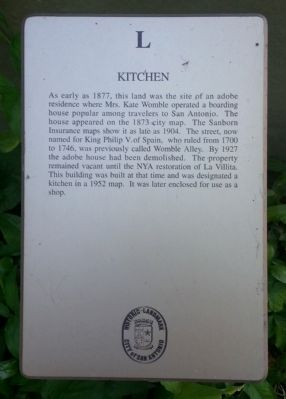 Kitchen Marker image. Click for full size.