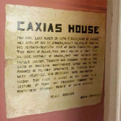 Caxias House image. Click for full size.