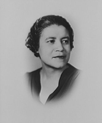 <i>Mrs. Crystal Bird Fauset, Special Assistant, Office of Civilian Defense</i> image. Click for full size.