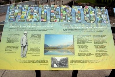 Waterton Marker image. Click for full size.