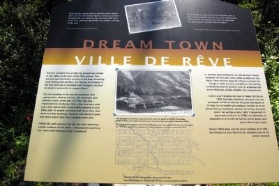 Dream Town Marker image. Click for full size.