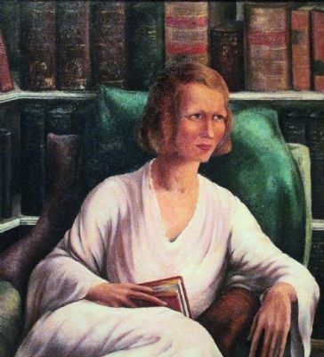 Edna St. Vincent Millay image. Click for full size.