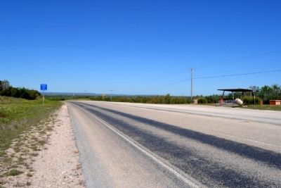 View to West on State Highway 158 image. Click for full size.