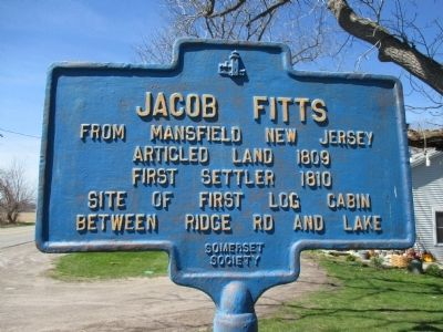 Jacob Fitts Marker image. Click for full size.