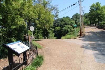 Missionary Ridge Trolley Marker image. Click for full size.