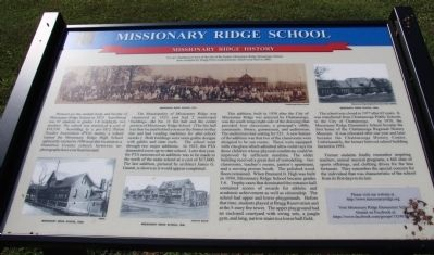 Missionary Ridge School Marker image. Click for full size.