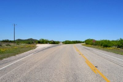 View to West Towards Intersection of<br>State Highway 208 and Ranch to Market Road 1672 image. Click for full size.