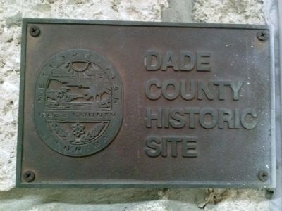 Dade County Historic Site image. Click for full size.