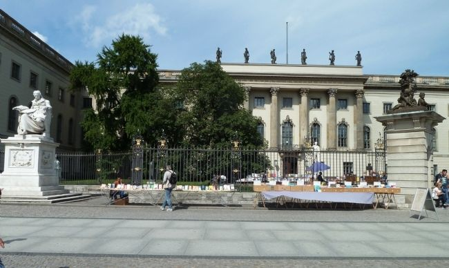 Front View of Humboldt University image. Click for full size.