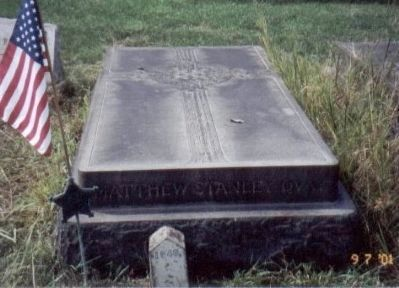 Matthew S. Quay Grave Marker image. Click for full size.