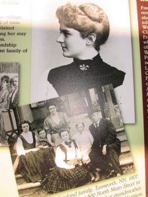 Frances Folsom Portrait & Family Picture image. Click for full size.