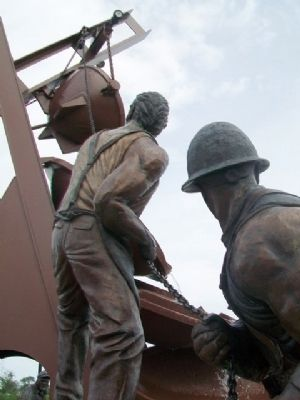 Labor Sculpture Detail image. Click for full size.