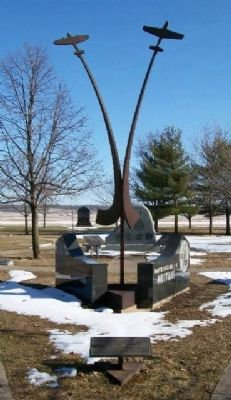 2nd Fighter Squadron, 52nd Fighter Group Monument image. Click for full size.