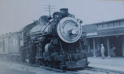 Monterey's Historic Railway -from Passengers to Industry Marker image. Click for full size.