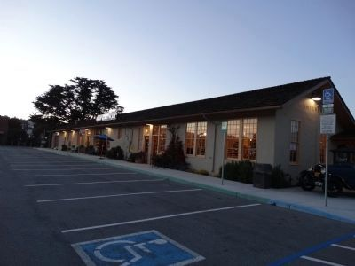 "Monterey's historic depot, now called ""The Wharf Marketplace"" image. Click for full size."