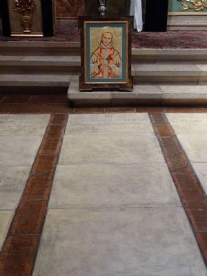 Father Jun�pero Serra Resting In Peace image. Click for full size.