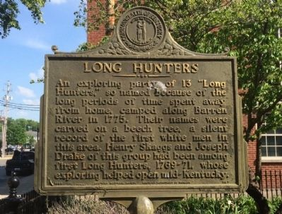 Long Hunters Marker image. Click for full size.