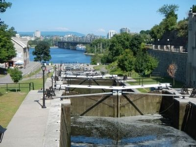 Rideau Canal Ottawa Locks image. Click for full size.
