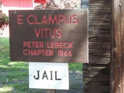 E Clampus Vitus Marker image. Click for full size.