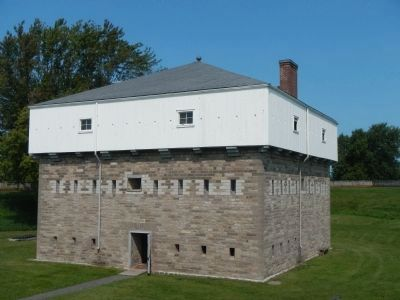 Fort Wellington Blockhouse image. Click for full size.