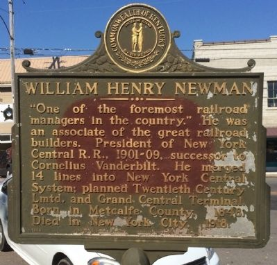 William Henry Newman Marker image. Click for full size.