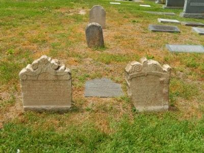 Anne and Christopher Birckhead Gravestones image. Click for full size.