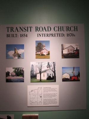 Transit Road Church Display image. Click for full size.
