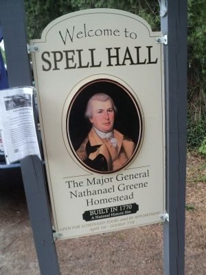 Nathanael Greene Homestead image. Click for full size.