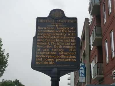 Lorenzo L. Langstroth Marker image. Click for full size.