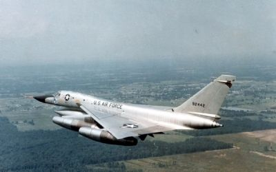 "Convair B-58 ""Hustler"" image. Click for full size."