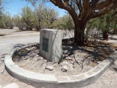 Soda Springs - Zzyzx Mineral Springs Marker image. Click for full size.