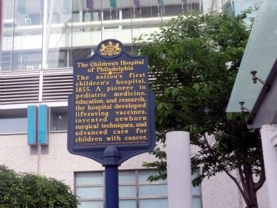 The Children's Hospital of Philadelphia Marker image. Click for full size.