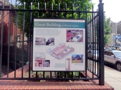 Green Building at Friends Center Marker image. Click for full size.