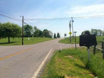 Area photo looking east on Elizaville Pike. image. Click for full size.