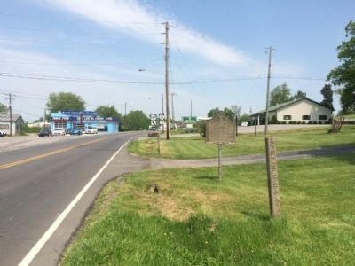 View of marker area looking north on Kentucky Highway 11 (Business) image. Click for full size.