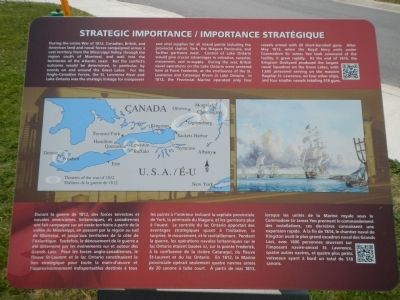 Strategic Importance / Importance Stratégique Marker image. Click for full size.