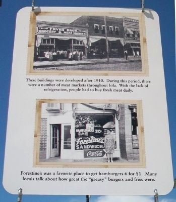 North Jefferson Avenue Businesses Marker image. Click for full size.
