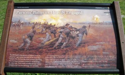 Parsons' Batteries Heavily Engaged Marker image. Click for full size.
