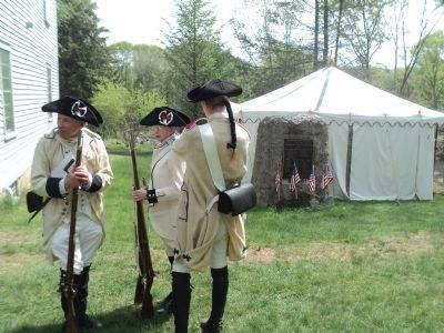 French Troops at the Nathanael Greene Memorial image. Click for full size.