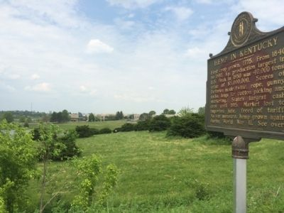Marker located near Maysville Community & Technical College.(background) image. Click for full size.