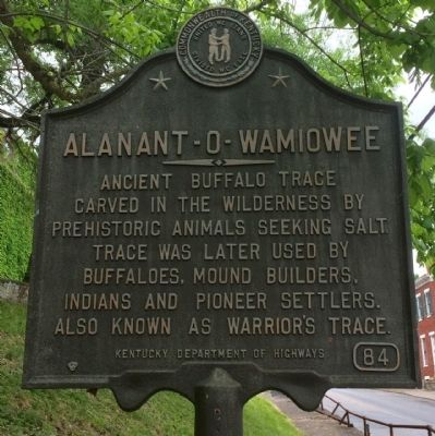 Alanant-O-Wamiowee Marker image. Click for full size.