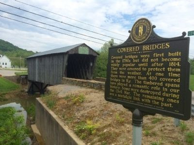 "Goddard ""White"" Bridge & Covered Bridges Marker image. Click for full size."