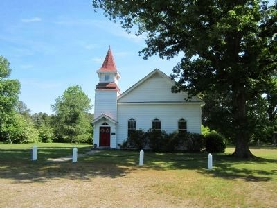 White Oak United Methodist Church image. Click for full size.